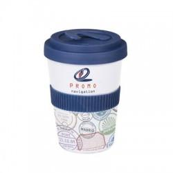Kubek reklamowy Coffee 2 Go Lock (2 cm opaska)