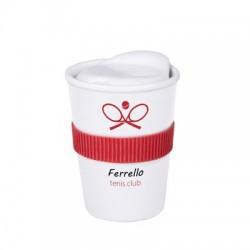 Kubek reklamowy Coffee 2 Go Trend (2 cm opaska)