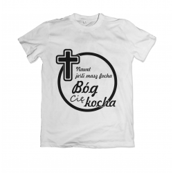 T-shirt with religious...