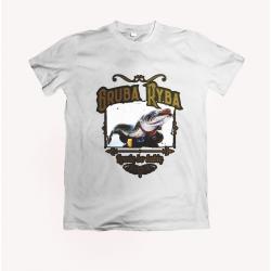 Koszulka dla wędkarza: Gruba ryba - wzór 3