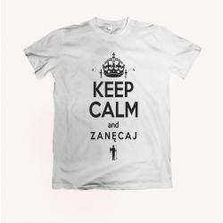 Koszulka dla wędkarza: Keep calm and zanęcaj - wzór 11
