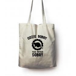 Bag with fishing print...