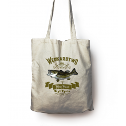Bag with fishing print...