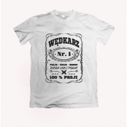 Koszulka dla wędkarza: Wędkarz Nr.1 - wzór 25