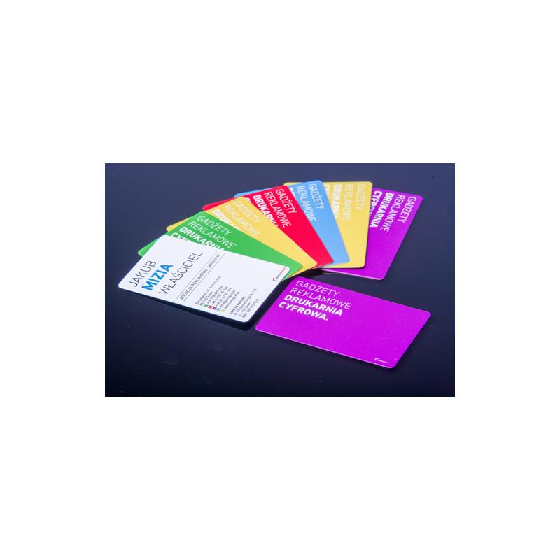 Karty, identyfikatory plastikowe PCV