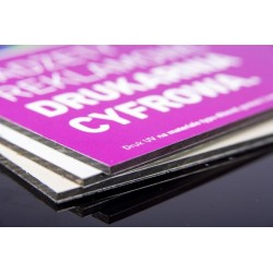 Advertising boards from the...