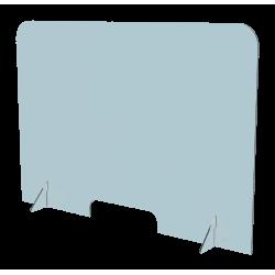Protective plexiglass cover...