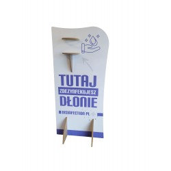 MDF Hand Disinfection Stand