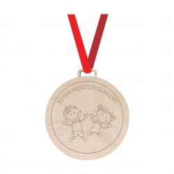 MEDAL WOODEN gift different...