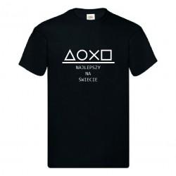Koszulka na Dzień Ojca: Najlepszy Na Świecie - Wzór 1