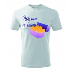 Koszulka na Dzień Ojca: Mój tata to skarb - wzór 4
