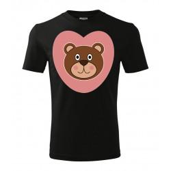 Koszulka na Dzień Dziecka: Miś - wzór 1