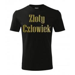 Koszulka na Dzień Dziecka: Złoty Człowiek - wzór 7