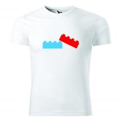 Koszulka na Dzień Dziecka: Klocki - Wzór 6