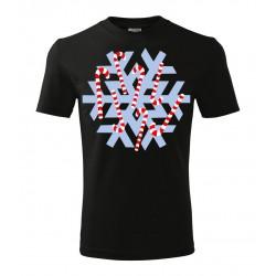 Koszulka Świąteczna: Śnieżynka - wzór 2