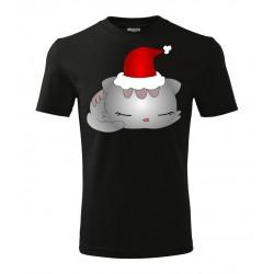 Koszulka Świąteczna: Kot - wzór 3