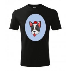 Koszulka Świąteczna: Pies - wzór 4