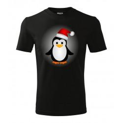 Koszulka Świąteczna: Pingwin - wzór 5