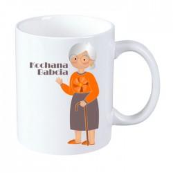 Kubek na Dzień Babci: Kochana Babcia - wzór 3