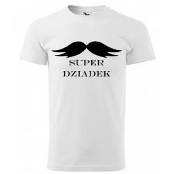 Koszulka na Dzień Dziadka: Super Dziadek - wzór 3