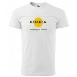 Koszulka na Dzień Dziadka: Dziadek najlepszy pod słońcem - wzór 4