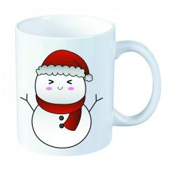 Kubek świąteczny: Bałwan -...