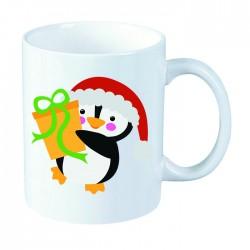 Kubek świąteczny: Pingwin -...