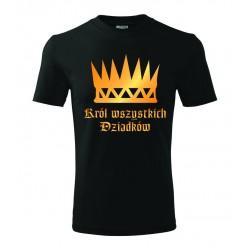 Koszulka na Dzień Dziadka: Król wszystkich Dziadków - wzór 9