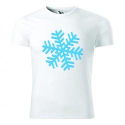 Koszulka Świąteczna: Płatek Śniegu - Wzór 6
