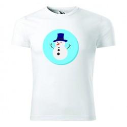 Koszulka Świąteczna: Bałwan - Wzór 7