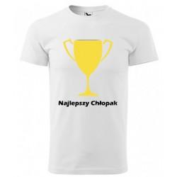 Koszulka na Dzień Chłopaka: Najlepszy Chłopak - wzór 4