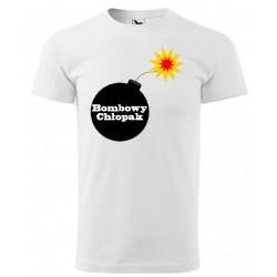 Koszulka na Dzień Chłopaka: Bombowy Chłopak - wzór 5