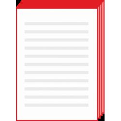 Notesy reklamowa klejone - wycena indywidualna